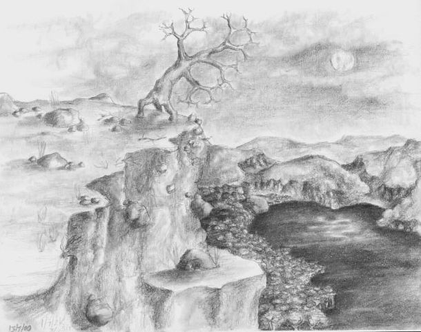 Drawn cilff Masteri Edge Drawings Drawing Cliff
