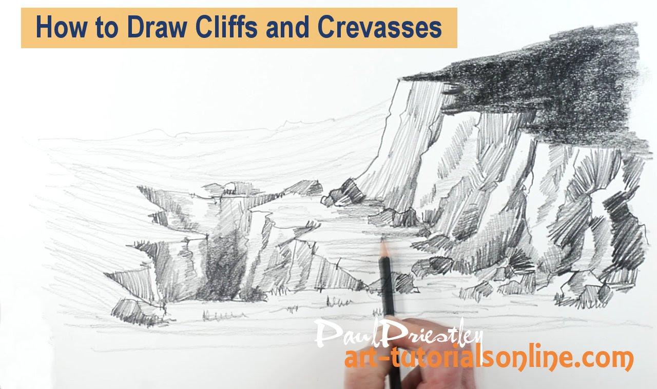 Drawn cilff And YouTube Draw Crevasses