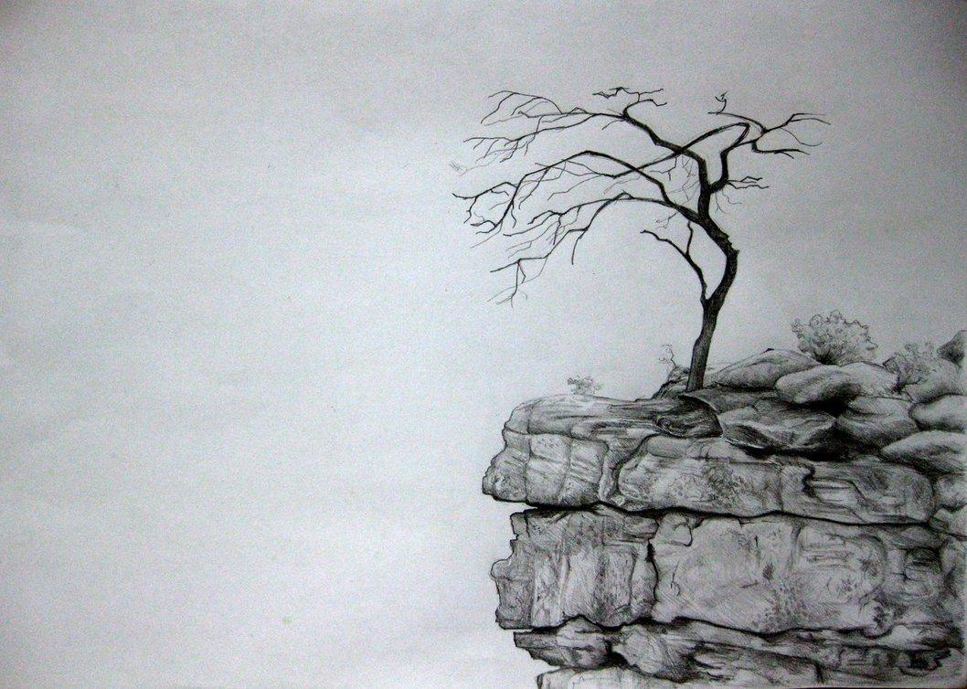 Drawn cilff OcularReverie DeviantArt Cliff on Cliff