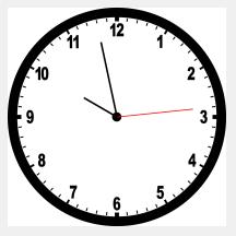 Drawn clock A to looking buffering Clocks