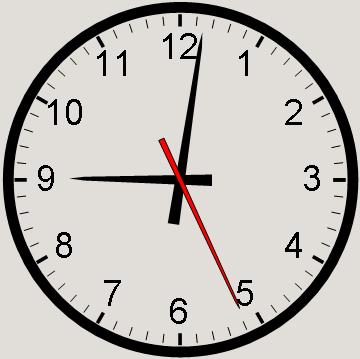 Drawn clock Rosetta clock a Draw Code