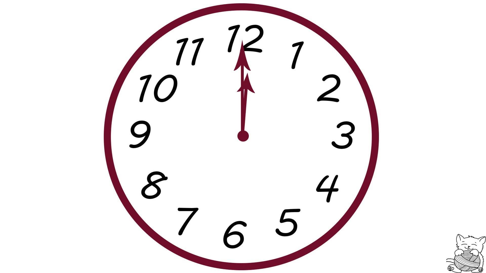 Drawn clock Clock Analog about What drawn