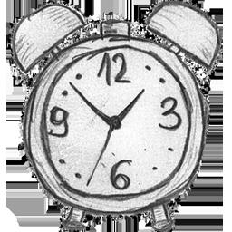Drawn clock / Alarm Clock Gallery 128px