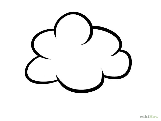 Drawn sky cartoon Draw Pinterest Tattoo <3 Cloud