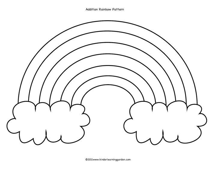Drawn rainbow class Rainbow Pattern 25+ Cloud Pinterest