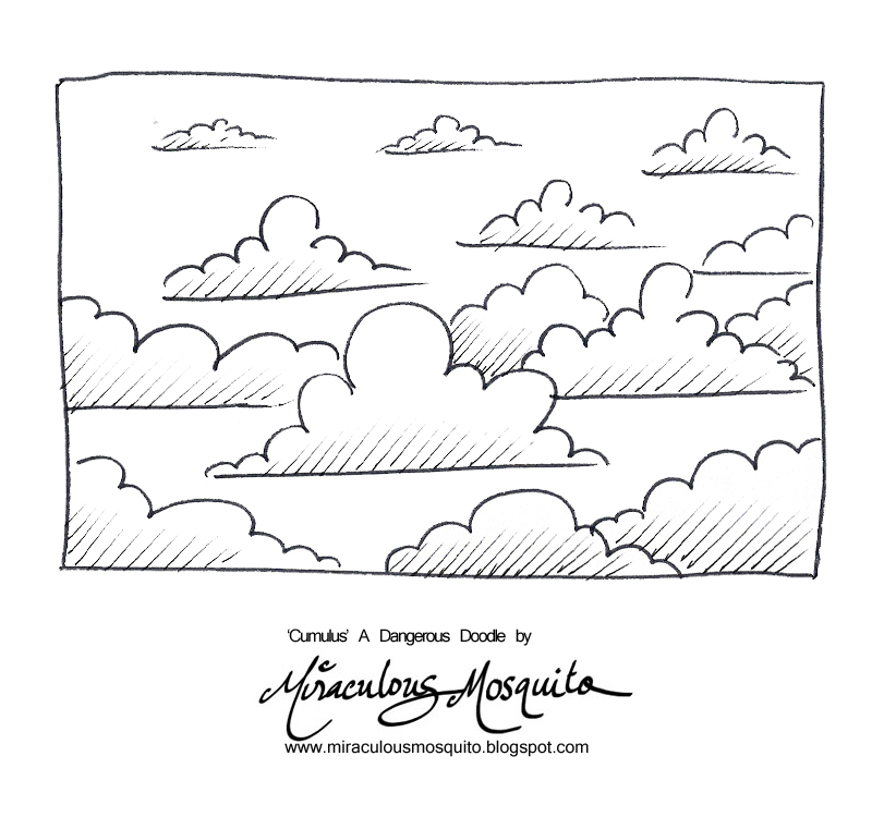 Drawn clouds cumulus Cumulus+ new Doodle Those A