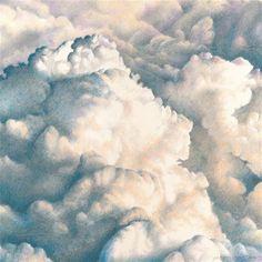 Drawn clouds color pencil Sale for pencil Fine