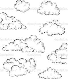 Drawn clouds epic Artist © a makeitdouble Start