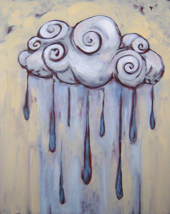 Drawn clouds rain Ideas Best  Cloud clouds