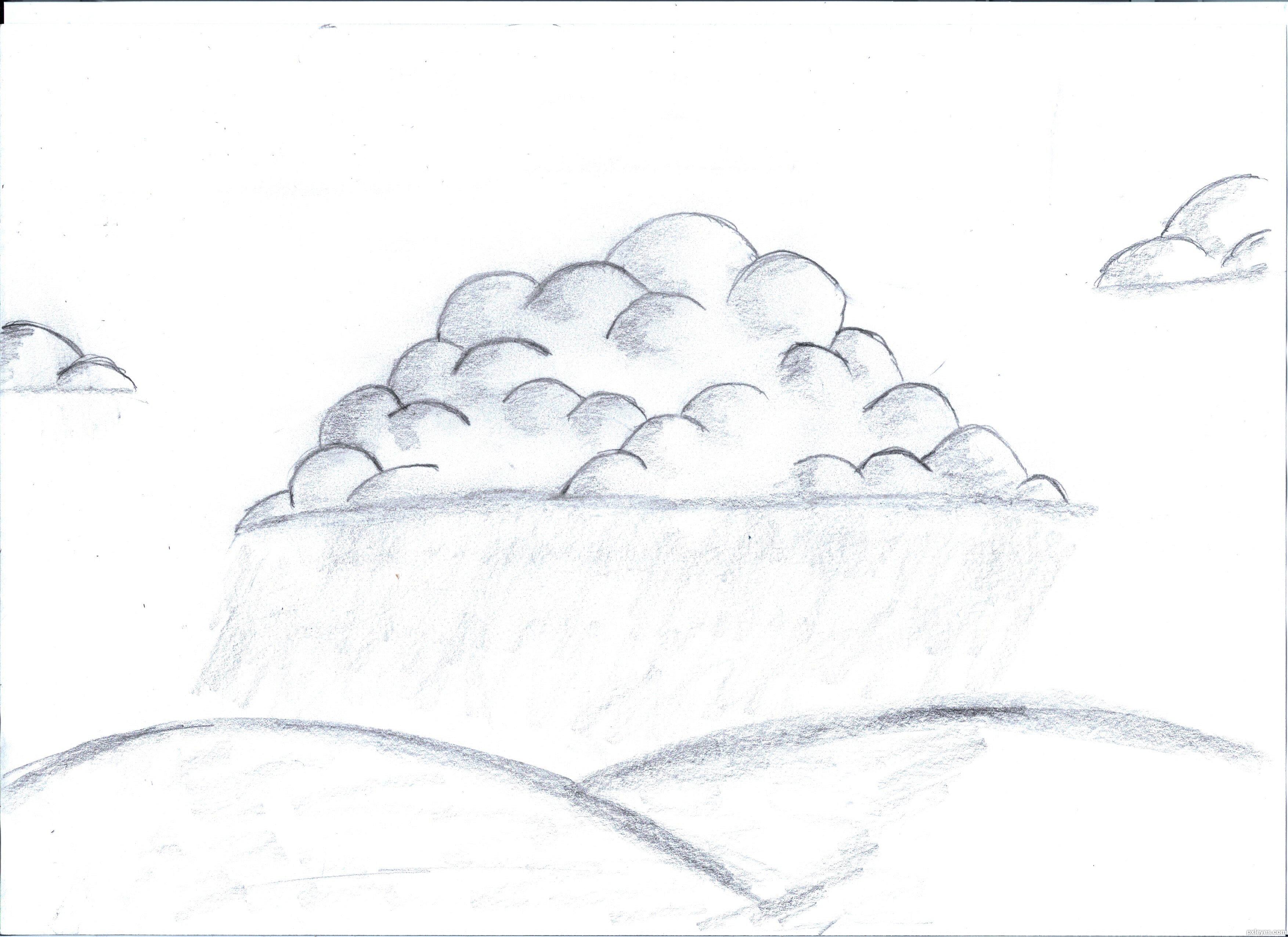 Drawn clouds rain drawing Com created Shapes itgik Day