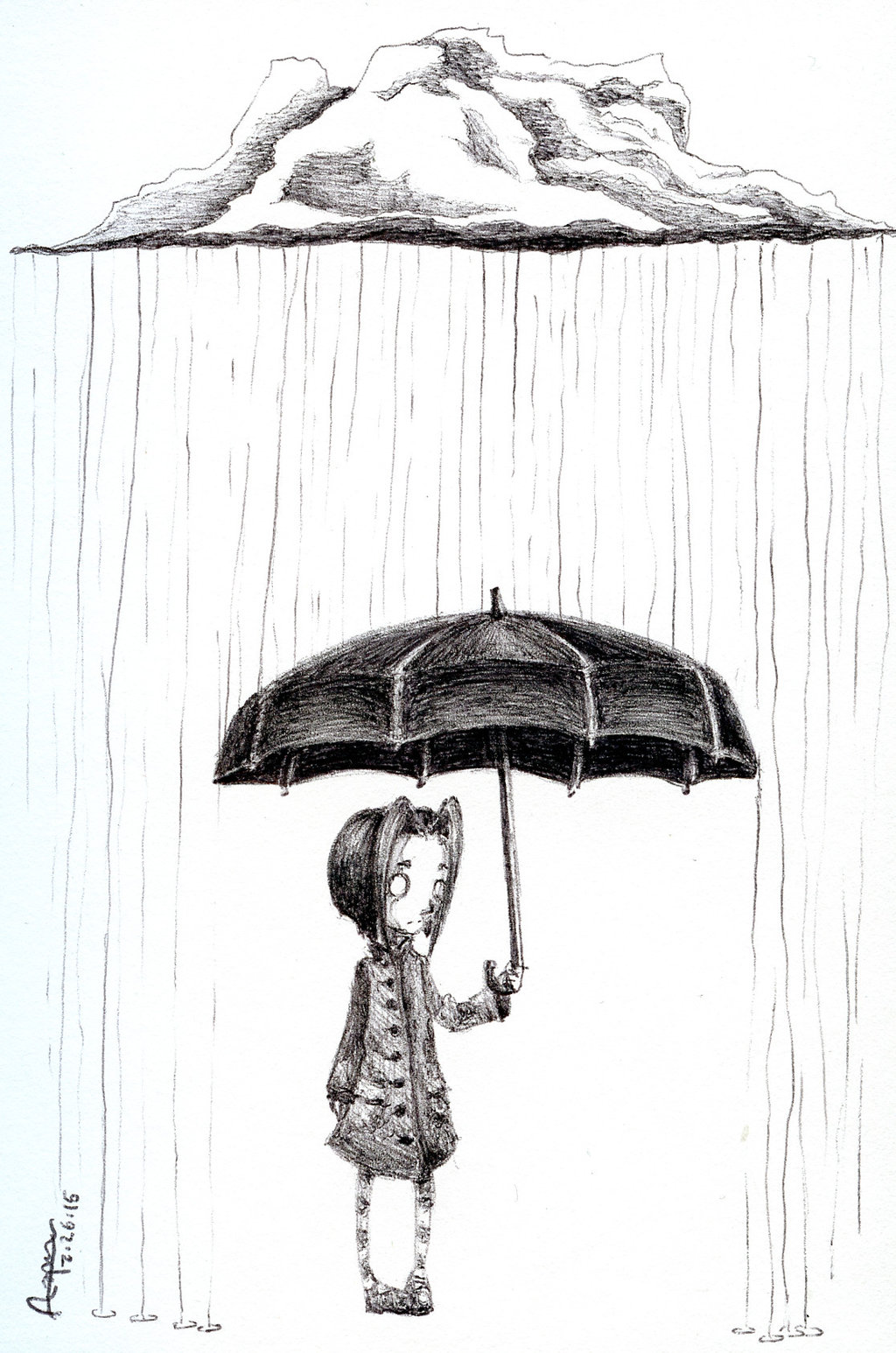Drawn clouds rain drawing Raincloud imaprettykittykat Draw) imaprettykittykat imaprettykittykat