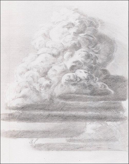 Drawn clouds realistic L Artist Lewis Teacher How