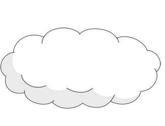 Drawn clouds pinter Pinterest Painting images Clouds Clouds