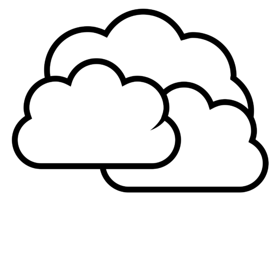 Clouds clipart clear background Free White Cloud art