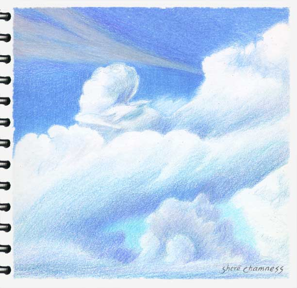 Drawn sky pencil drawing Tips Google Drawing sky Pinterest