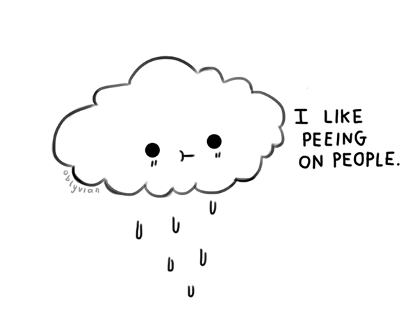 Drawn clouds cute Pyon~ pyon ThingsFunny by com/tagged/