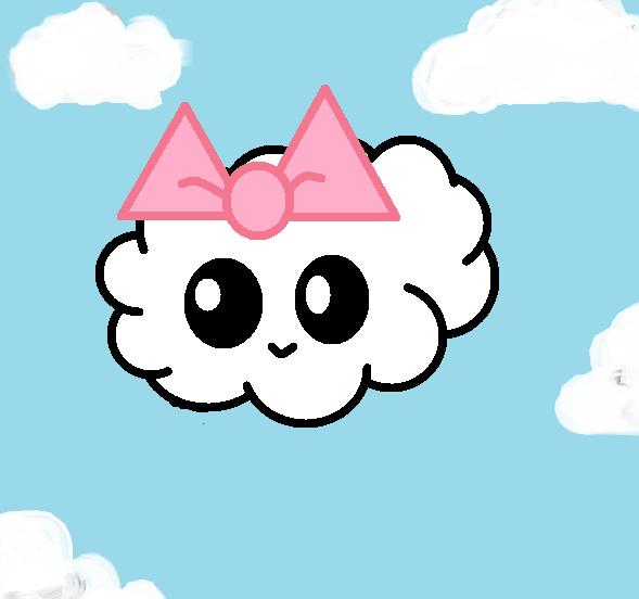Drawn clouds cute cartoon By sapphirelm sapphirelm Cloud Cloud
