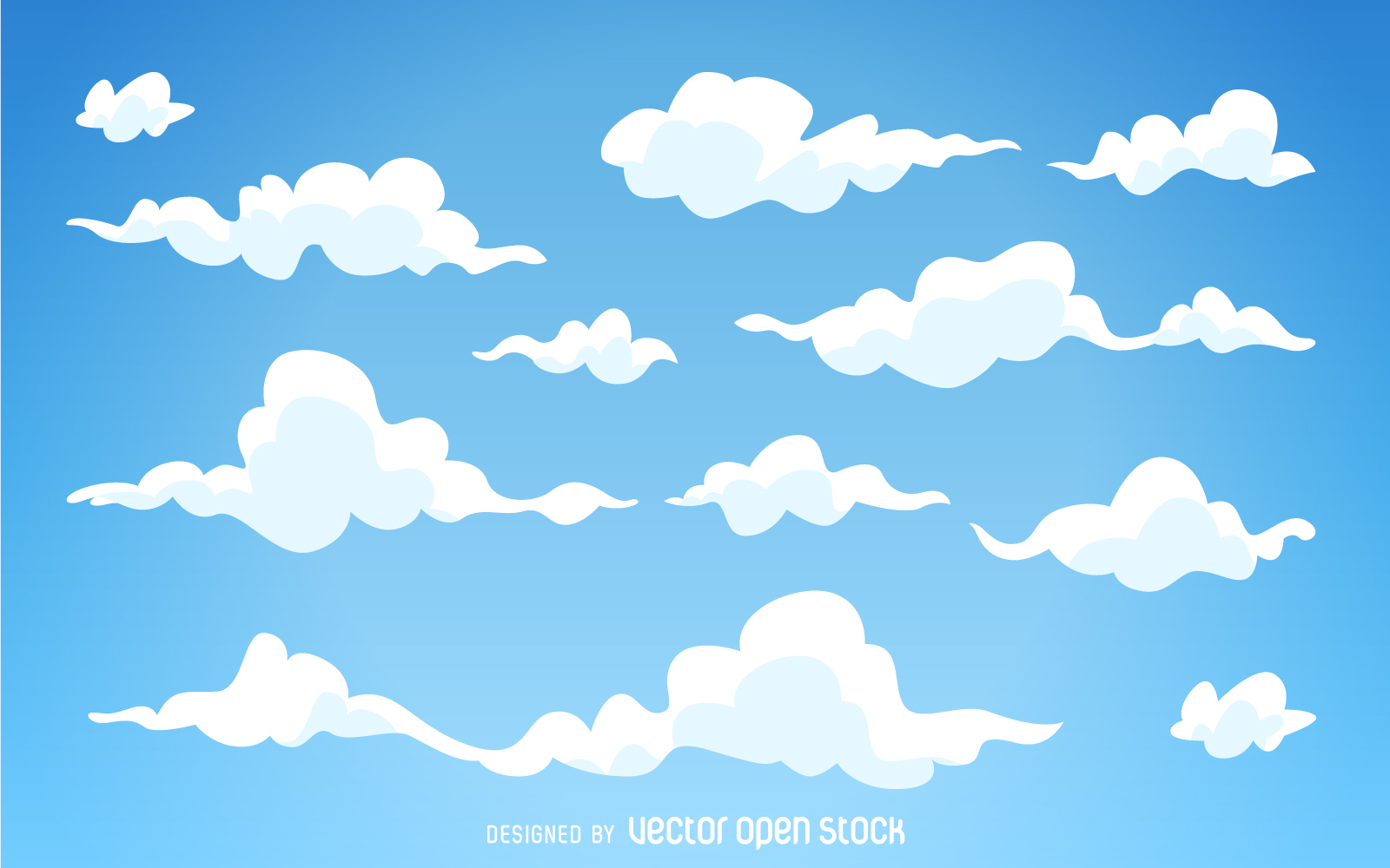 Drawn clouds illustrated Clouds Download cartoon Image Illustrated