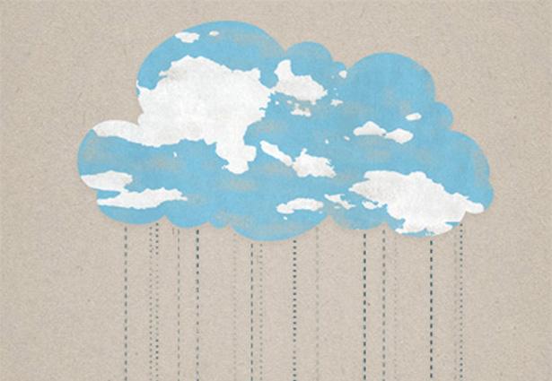 Drawn clouds rain Icons Cloud Depot cloud Webdesigner