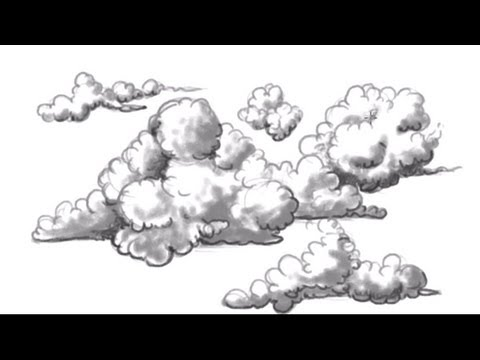 Drawn clouds realistic Draw Clouds to How ACrafty