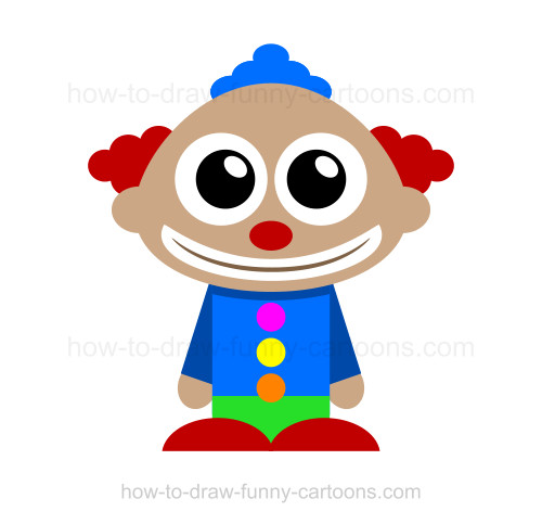 Drawn clown Draw to a How Draw