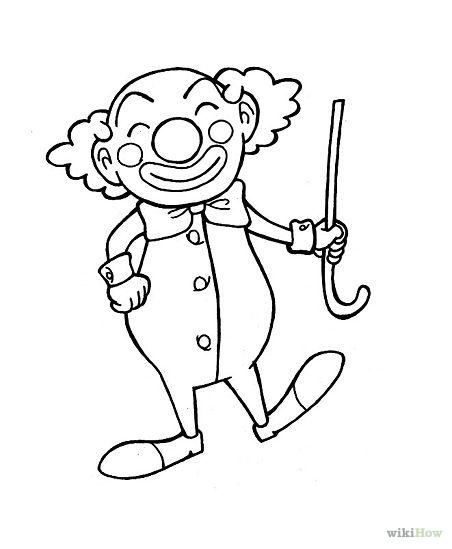 Drawn clown Clowns Draw Draw Journal ideas