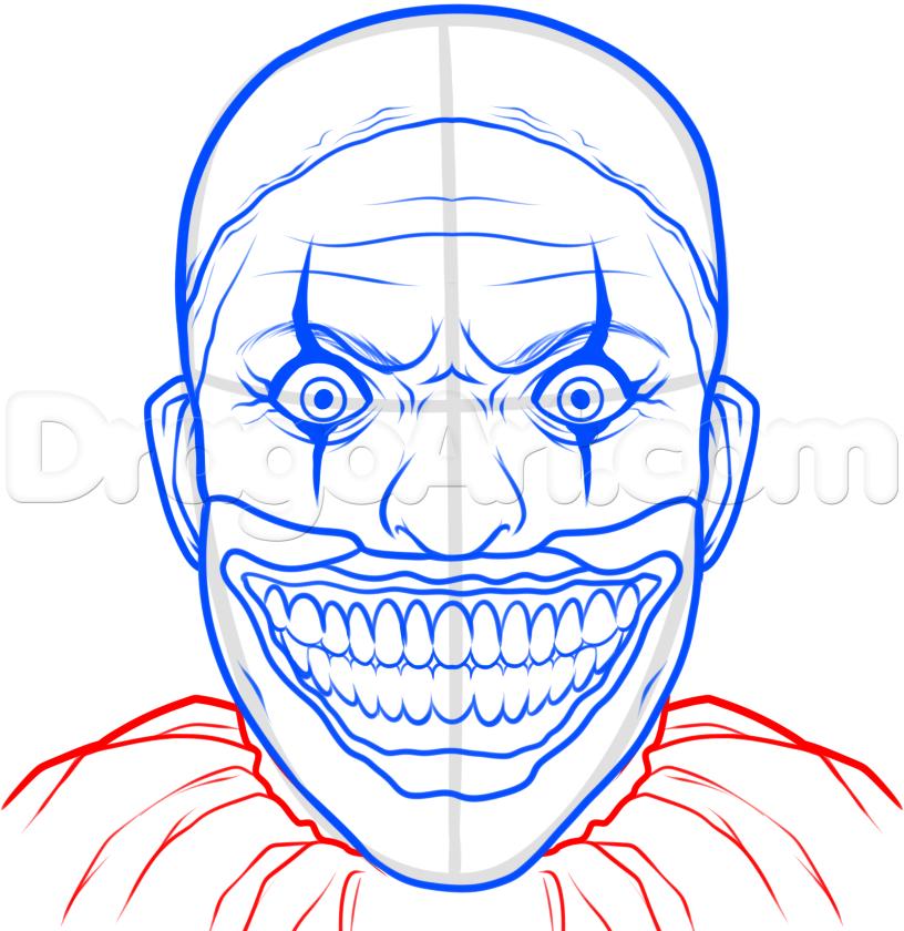 Drawn clown Twisty 9 to Draw How