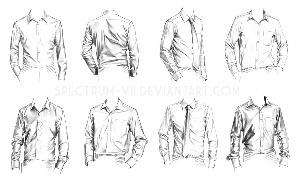 Drawn shirt Study by Spectrum @deviantART A