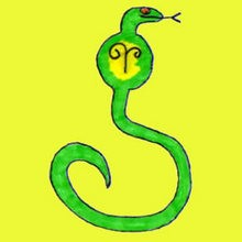 Drawn reptile easy COBRA How to SNAIL SNAKE