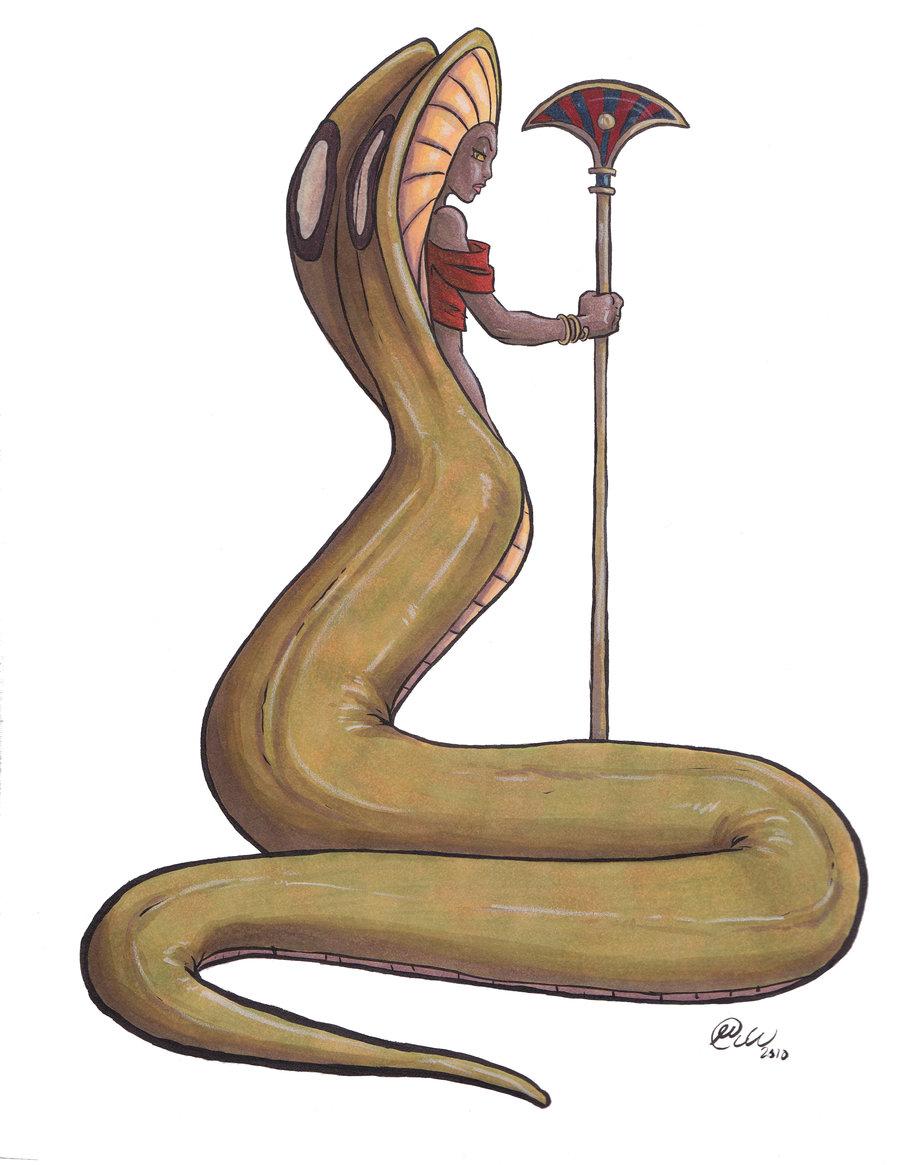 Drawn snake egyptian cobra Egyptian jillybean200x DeviantArt Cobra by