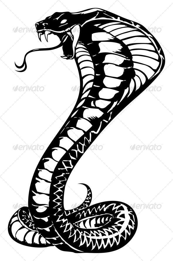 Drawn snake king cobra Ideas Snake The 25+ best