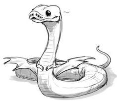 Drawn snake cute  Pencil Eskridge art Ball