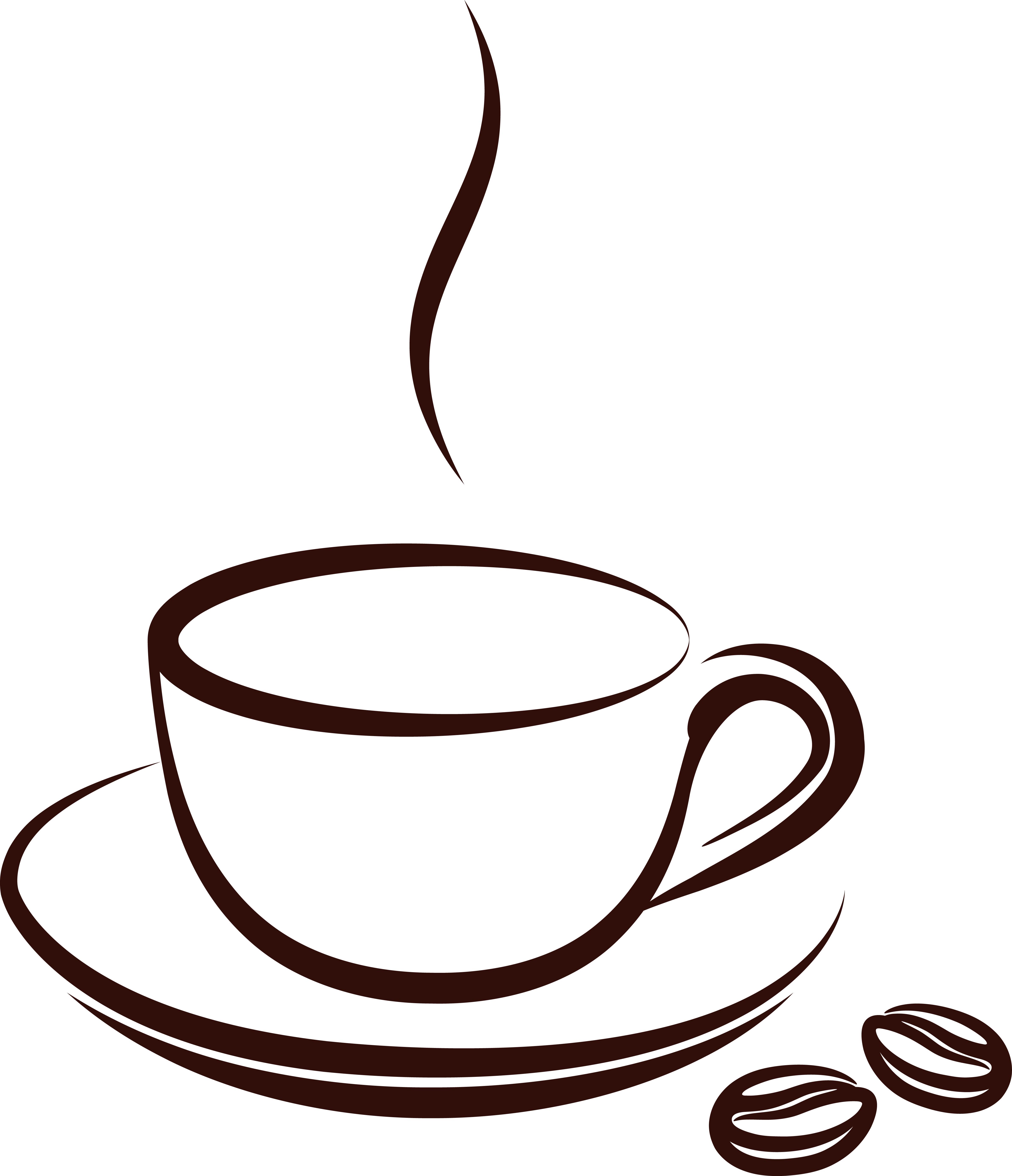 Drawn coffee Nice Sweet a for Nice