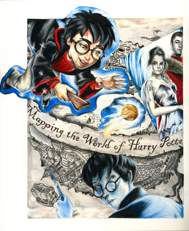 Drawn amd harry potter DeviantArt on Potter Potter Collage