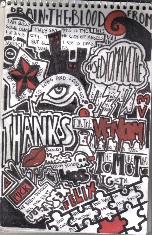 Drawn collage Collage on DeviantArt by Felix