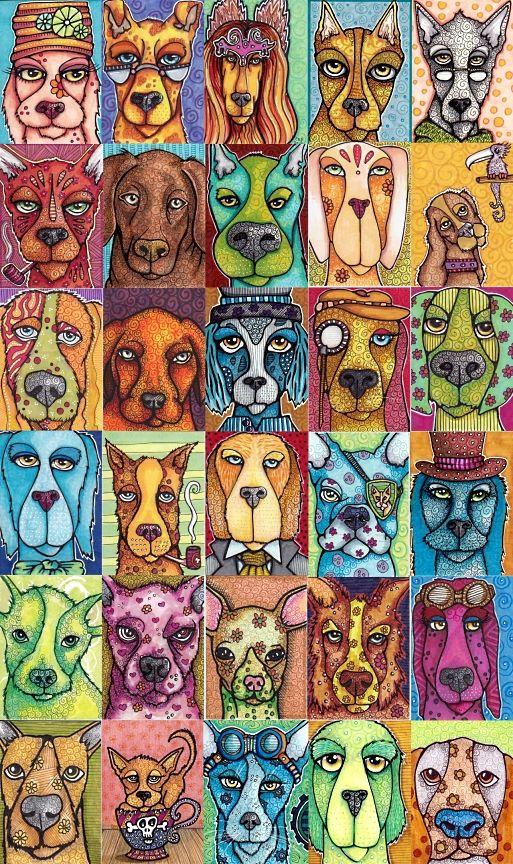 Drawn rock animal  Dog Best CollagesArt Cartoon
