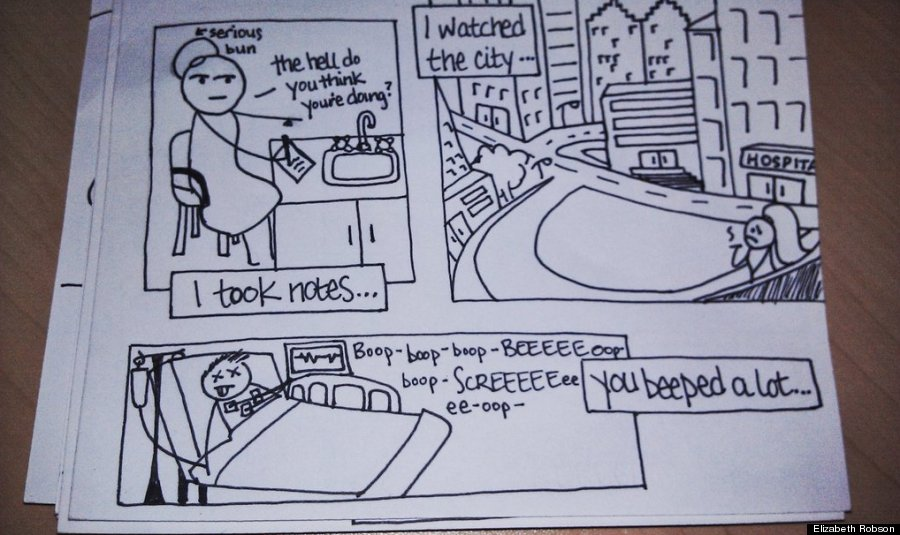 Drawn comic Bring robson Husband To Hand