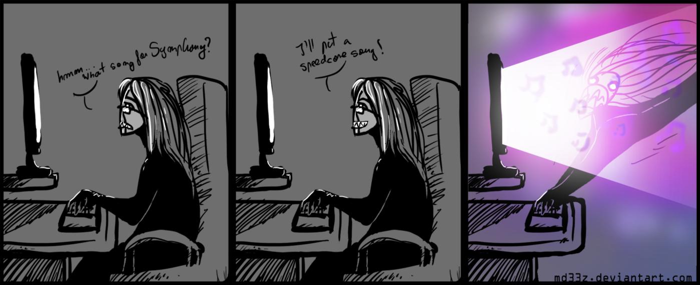 Drawn comics badly And comic Symphony and DeviantArt
