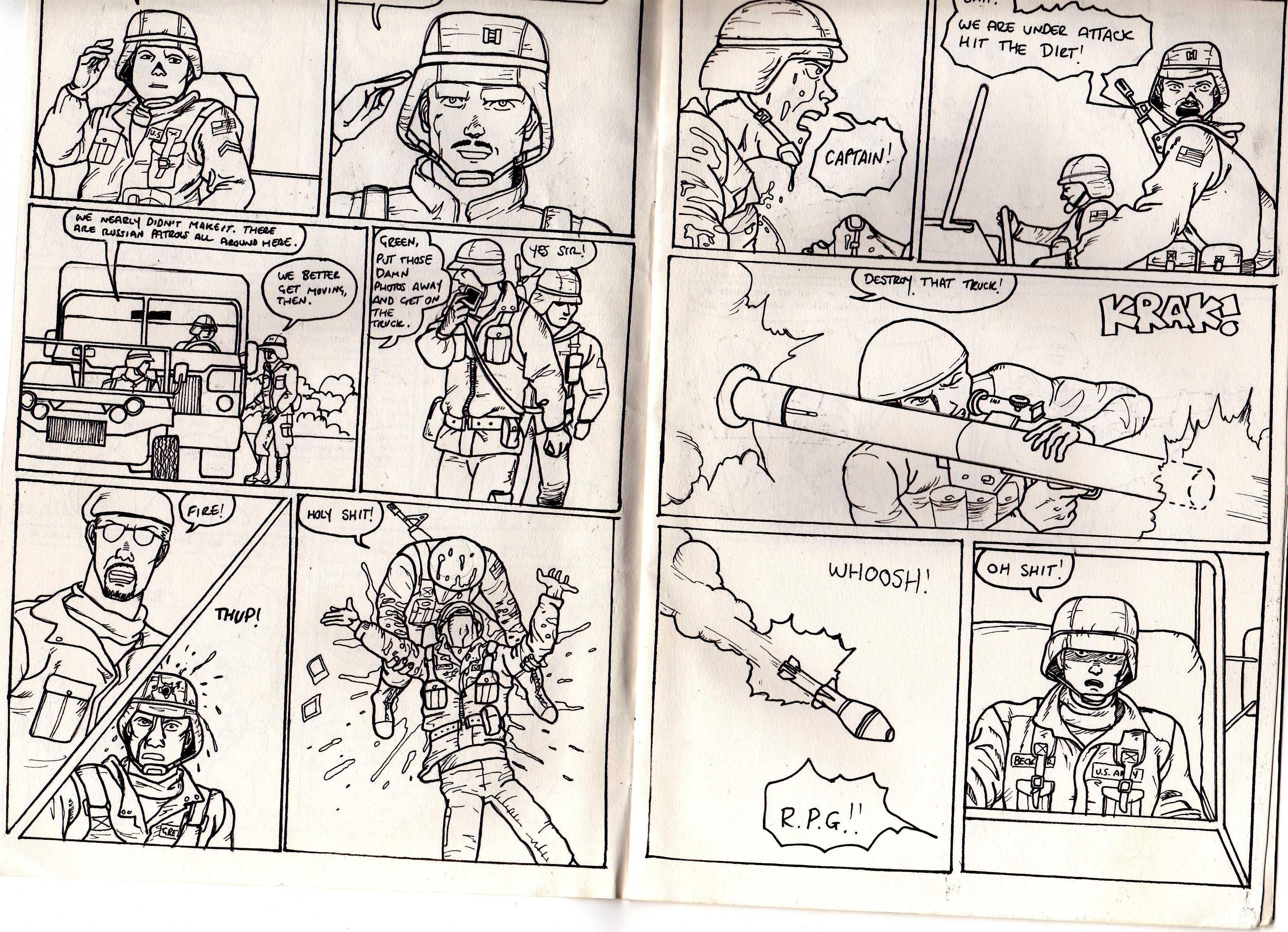 Drawn comic Comics not 3 Me see