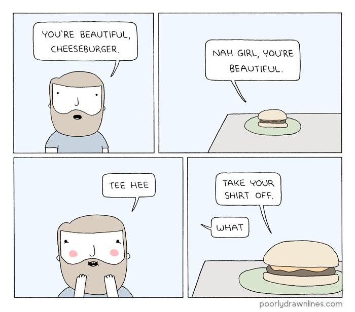 Drawn comics badly Cheeseburger Poorly Cheeseburger – Drawn