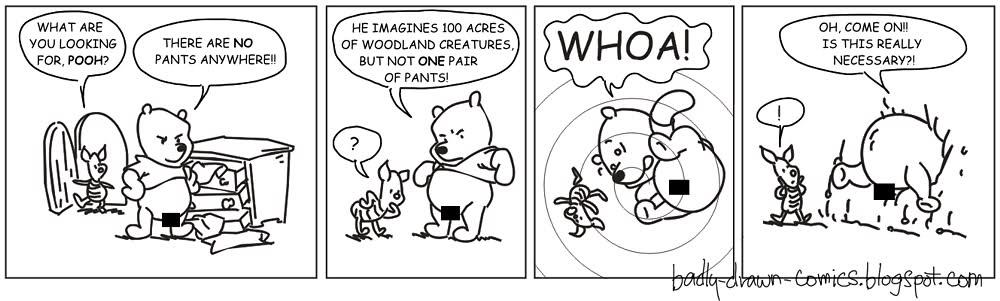 Drawn comics badly Poor Pooh Comics Badly Drawn