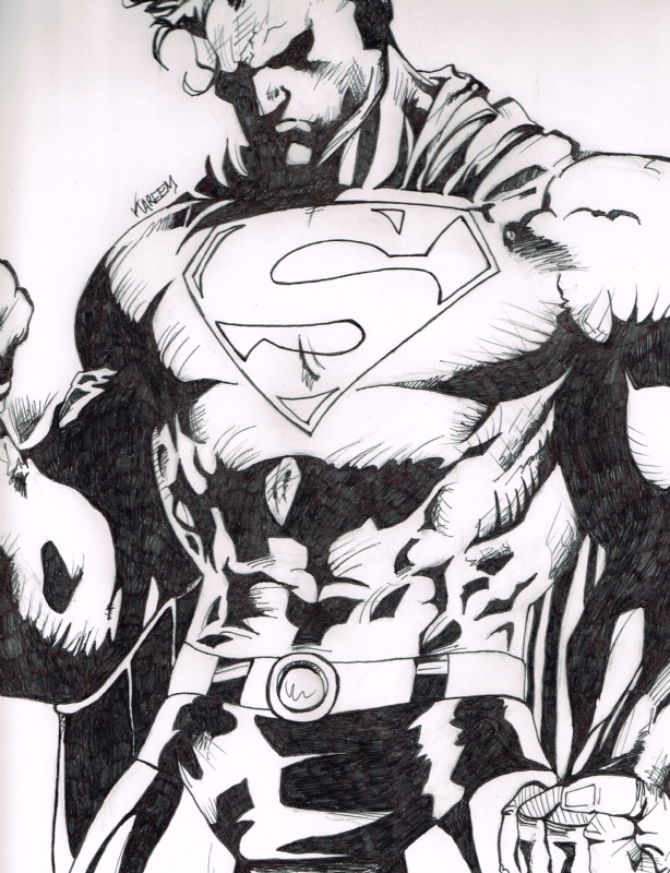 Drawn superman comic art 55 Pin about more Book