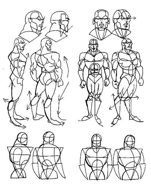 Drawn comics body COMIC ANGLE DRAW BODY COMICS