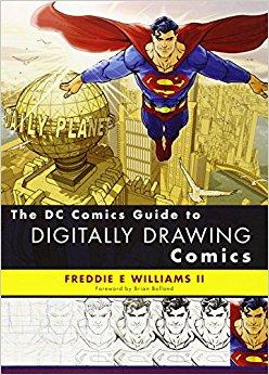 Drawn comics digitally Digitally DC The Drawing Guide