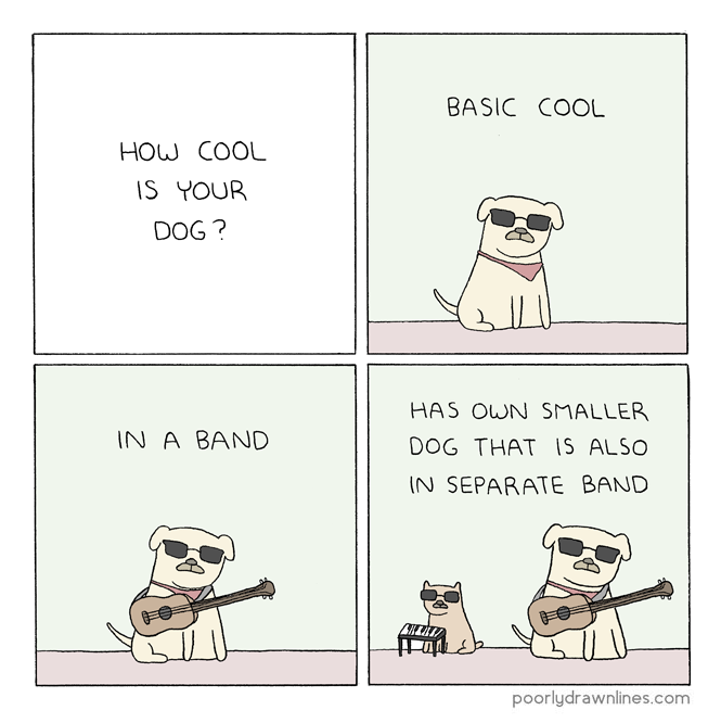 Drawn puppy cool dog How is So cool http://poorlydrawnlines