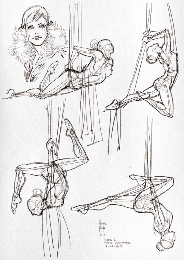 Drawn ballerine full body Human drawing ideas the body