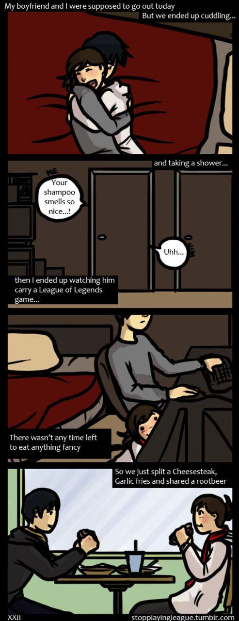 Drawn comics my boyfriend ^ and more gamer 132