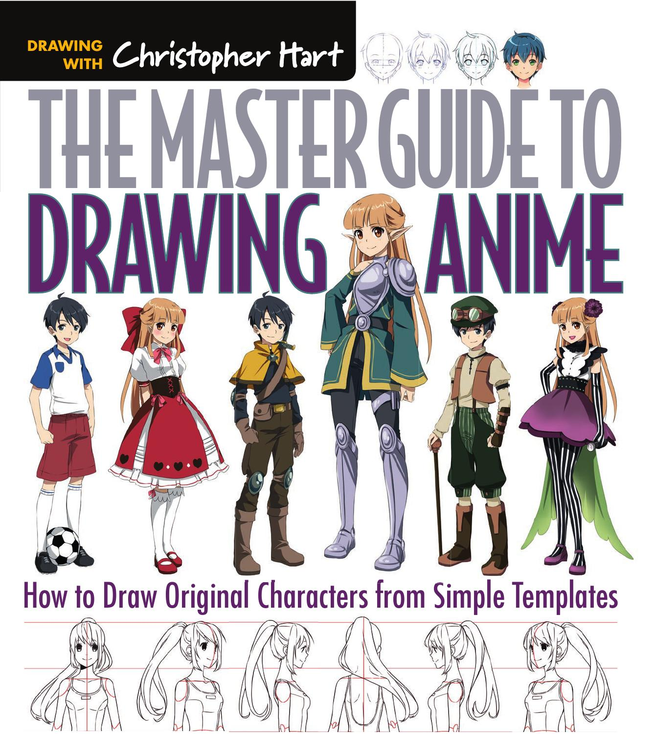Drawn comics pdl Anime: to Master Books Draw