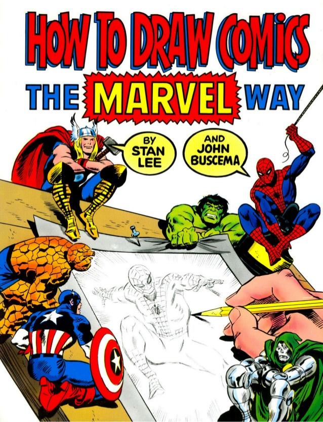 Drawn comics pdl Marvel lee lee How marvel