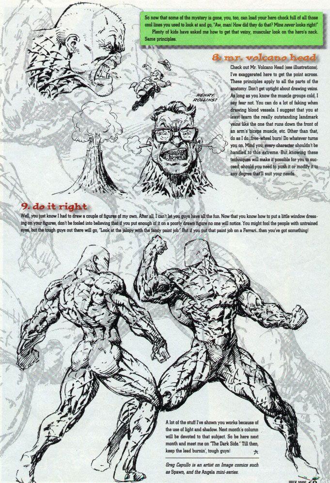 Drawn comics pdl Tutorials Training Magazines Greg Capullo